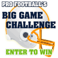 Pro Football's Big Game Challenge - Enter to Win!