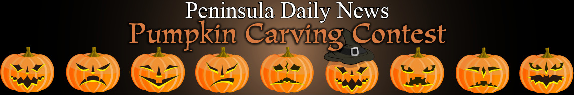 Peninsula Daily News Pumpkin Carving Contest